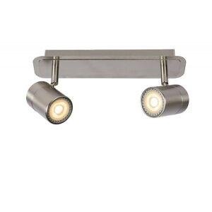 Lucide Lennert Modern  Metal Satin Chrome Ceiling Spot Light