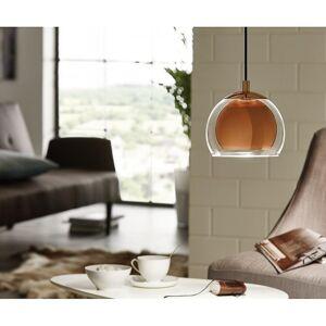 Eglo Rocamar kobber Glass verden enkelt anheng slipp