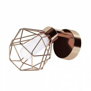 Eglo Zapata Matte Copper Single Cage Spot Light G9 LED