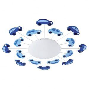 Eglo Viki blå Boys Room lys biler