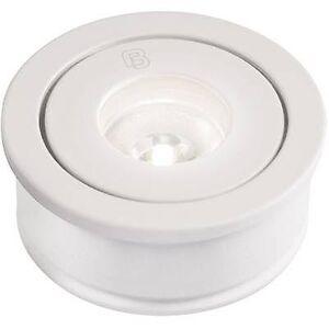 Barthelme 62514527 62514527 ledet innfelt lys 3 W varm hvit hvit