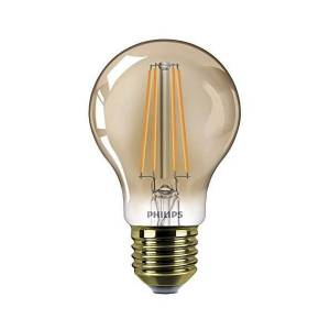 Philips Pære LED 8W Classic 2000K (630lm) Dimmbar E27 - Philips    60 mm