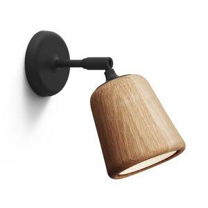 New Works Material Vägglampa Oak