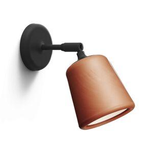 New Works Material Vägglampa Terracotta