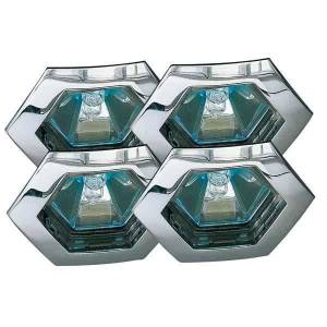 Paulmann 12V Hexa Spotlight Krom (4 pack)
