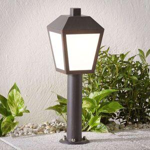 Lampenwelt.com LED-sockellampa Bendix utan rörelsesensor
