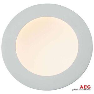 AEG 18W stark LED-inbyggnadsspot Orbita, vit