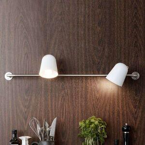 Markslöjd Conrad - vägglampa med väggstång, två ljuskällor