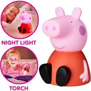 Peppa Pig Greta Gris figur, 2 i 1 Fick- och nattlampa