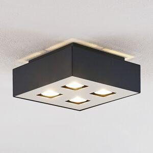 Lindby Kasi taklampa, 4 lampor, 24 x 24 cm