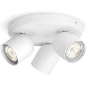 Philips myLiving Spotlight Zesta 3x4,5 W vit 564933116