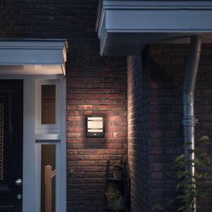 Philips myGarden Vägglampa Petronia sensor 1x12 W antracit 1739593P0