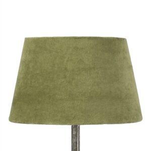 Jensen Lampskärm Sammet Olivgrön Liten