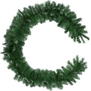 tectake Granguirlande med hvide spidser - grøn