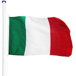 tectake Aluminium flagstang - Italien