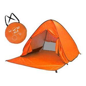 Pop-up telt vanntett til strand / festival 150 x 165 x 100 cm - oransje