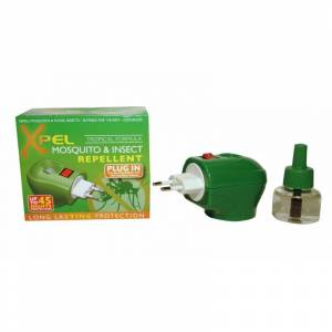 Xpel Mosquito & Insect Relief Plug-In 1 st + 35 ml Myggmedel