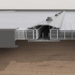 Kanalplasttak för uterum 16 mm Kanalplast tak 16 mm 5000 mm, 4330 mm