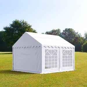 taltpartner.se Partytält 3x3m PVC 500 g/m² vit vattentät