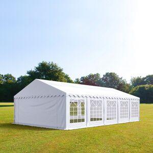 taltpartner.se Partytält 5x10m PVC 500 g/m² vit vattentät