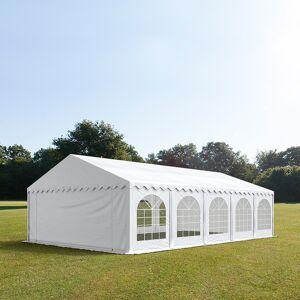 taltpartner.se Partytält 6x10m PVC 500 g/m² vit vattentät