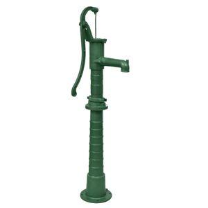 vidaXL Håndpumpe for hage med stativ støpejern