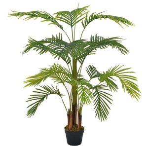 vidaXL Kunstig palme med potte grønn 120 cm
