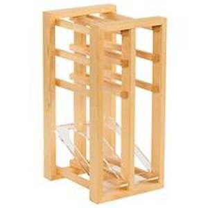 Traditional Wine Racks Vinstativ Display Tre/Akryl