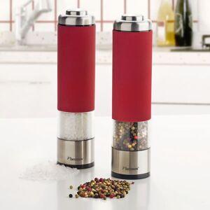 Bestron Elektrisk salt- og pepperkvernsett rød APS526R