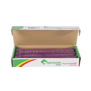 Wrapmaster Plastfolie PVC Wrapmaster 1000 30cmx100m