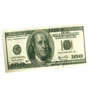 Servett 100-dollarsedel