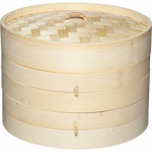 Kitchen Craft Ångkokare Bambu 20 cm