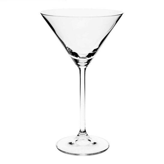 Bohemia Taça Martini Roberta 6 Peças 210 ml Bohemia