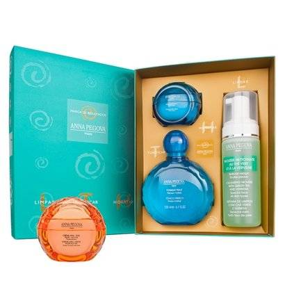 LTH - Limpar, tonificar e hidratar + Creme Pluri-Active Kit Anna Pegova - Unissex-Incolor