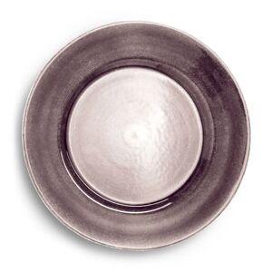 Basic lautanen 25 cm Plum  - Violetti