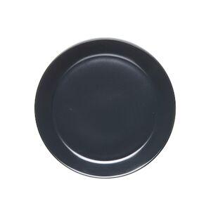 Höganäs Keramik HK Asjett 20 cm med kant grafitgrå matt