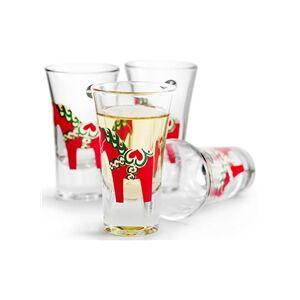 Sagaform Dalahest snapsglass 4-pakning 1 set