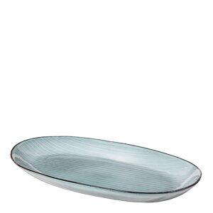 Broste Copenhagen Nordic Sea Tallerken oval 30 cm