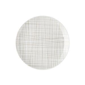 Rosenthal Mesh Line Plate 21cm, Walnut