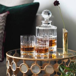 Hadeland Glassverk Hadeland Kube Whisky Karaffel 80 cl