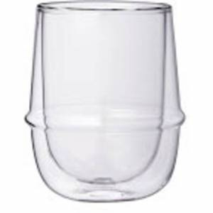 Kinto KRONOS Dobbeltvegget glass 250 ml