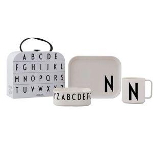 Design Letters Tritan Spisesett Gavepakke, N