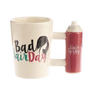 Bad Hair Day - Kopp med Hårspray-Formet Håndtak