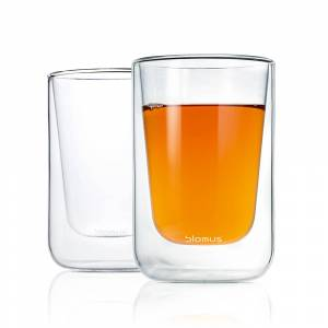Blomus Nero Dubbelväggad Cappuccino/Te Glas 2-Pack
