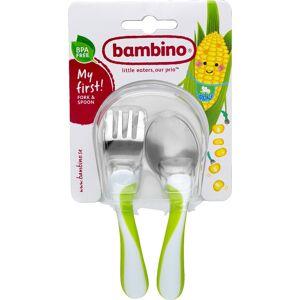 Bambino Äta själv-bestick - Blandade färger