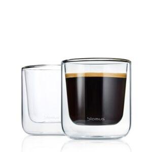 Blomus NERO, Kaffeglas / Teglas, 2-pack