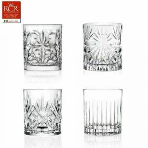 RCR Mixology Krystal Glas - 4 Tumblers