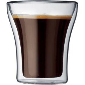 Bodum Assam dubbelväggade glas 200 ml. 2 st.
