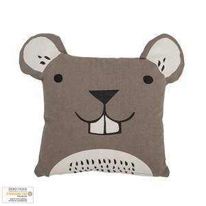 Bloomingville Brown Mouse Cushion