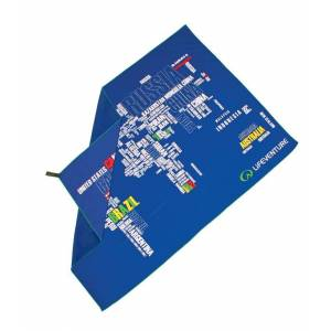 Lifeventure SoftFibre Trek Towel - World Words